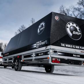 BRP släpvagn med kåpa från 2020